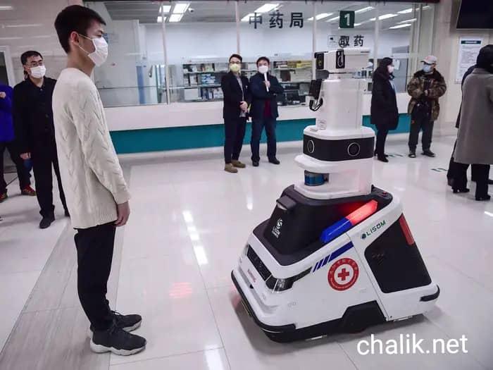 ربات از بین برنده ویروس