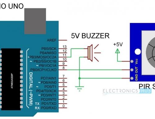 راه اندازی سنسور PIR با استفاده از آردینو – هوشمند سازی با سنسورها
