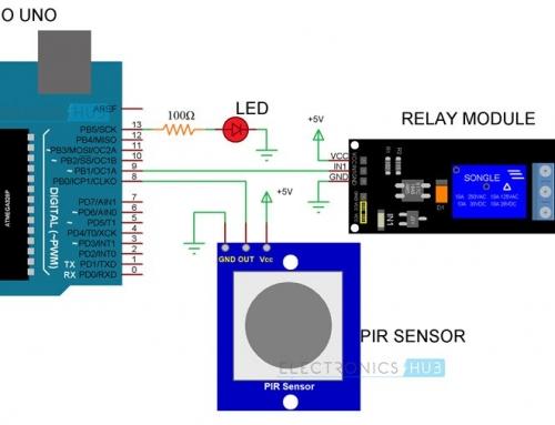 ساخت چراغ اتوماتیک با استفاده از Arduino و سنسور PIR – اینترنت اشیا و کاربرد آن