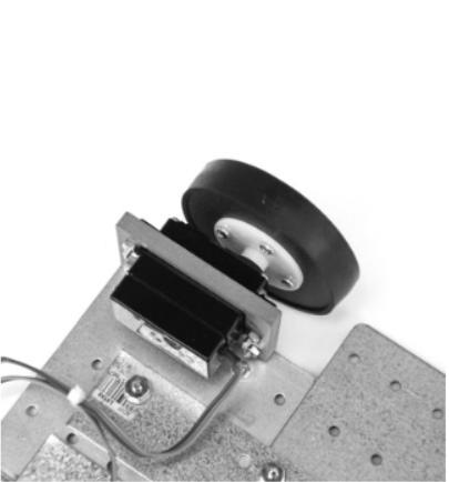 نمای موتور ربات