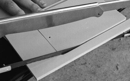 برش ورق پلاستیک برای ساخت ربات
