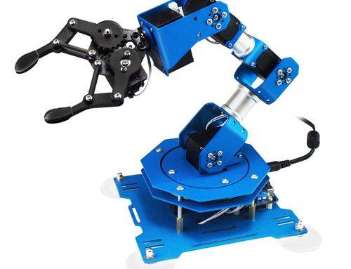 ساخت بازوی مکانیکی رباتیک با مقوا