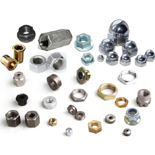 All kinds of bolts