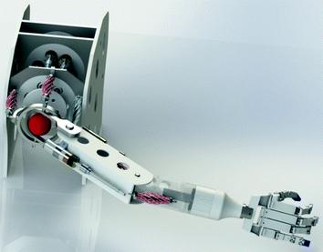 Anthropomorphic robotic arm
