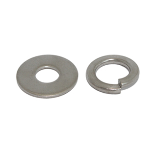 Flat and spring washers