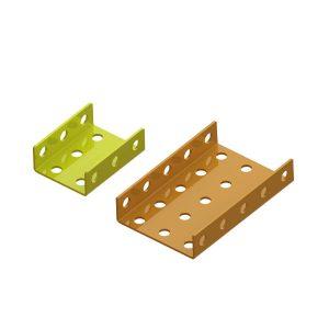 U-shaped-metal-plates
