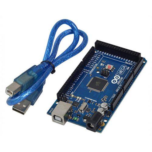 بورد آردوینو مگا 2560 به همراه کابل USB