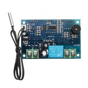 ترموستات دیجیتال و کنترل دما XH-W1401 DC12V با نمایشگرLED و سنسور