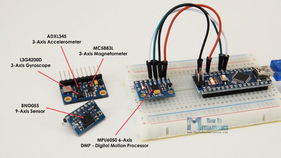 Absolute-orientation-sensors-MPU6050-BNO055