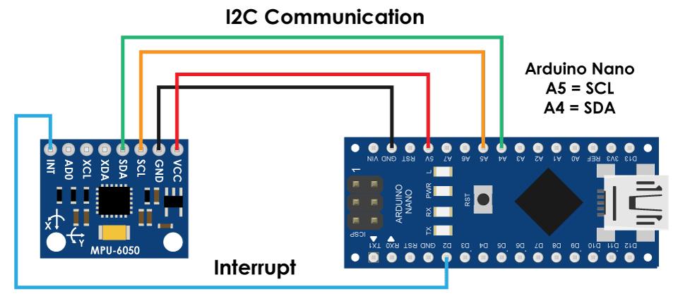Arduino-and-MPU6050-DMP-Interrupt-pin-circuit